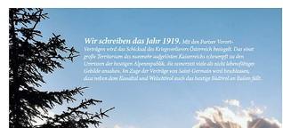 "Genuss Magazin - Artikel ""Hochpustertal"""