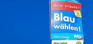 Grünen-Ergänzungen für AfD-Wahlplakate sind erlaubt