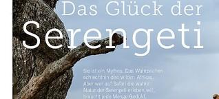 Das Glück der Serengeti