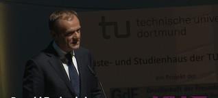 Kurier: Verleihung der Ehrendoktorwürde: Donald Tusk an der TU Dortmund - Kurt