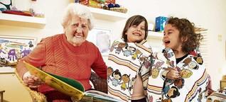 Betreuungskonzept: Kombination aus Altenpflege-Einrichtung und Kita