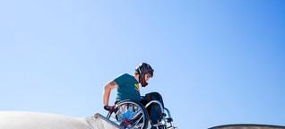 """""""Rollstuhl-Skating ist unglaublich emanzipierend"""""""