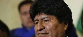 Morales hat den Absprung verpasst