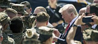 Trump: Deutschland soll mehr für US-Soldaten zahlen