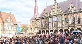 """Liveticker zur """"Fridays for Future""""-Demo: So läuft der Klimastreik in Bremen und der Region"""