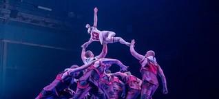 """""""Messi 10"""" von Cirque du Soleil: Fußballzirkus für einen Ballartisten"""