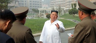 Kim zündelt, China warnt, Trump schweigt
