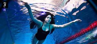 Sportlerinnen aus Syrien: Frei geschwommen