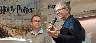 Moderation mit Harry-Potter-Illustrator Jim Kay