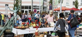 Plüderhausen: Floh- und Trödelmarkt lockt viele Besucher an