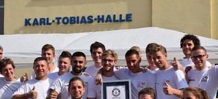 Weltrekord geglückt