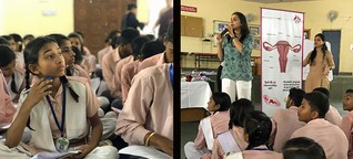 Menstruation: Indiens Kampf gegen Diskriminierung