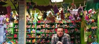 Weihnachtszeit: An diesem Weihnachtsmarkt-Stand hat jedes Tier eine Geschichte