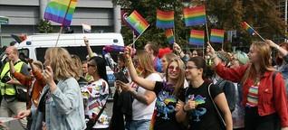 Pride Parade in Stettin verläuft friedlich