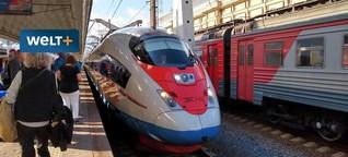 Reisen per Bahn und Fähre: Ohne Flug nach Tokio - geht das?