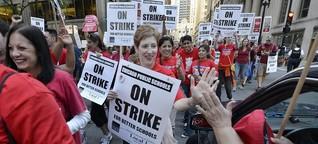 """US-Aktivistin Jane McAlevey: """"Wir können Amazon schlagen!"""""""