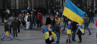 Die Krim-Krise auf der Domplatte | DW | 16.03.2014