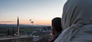 Afrin: Ausharren in Todesangst | DW | 24.01.2018