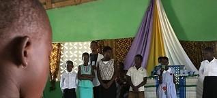 """""""Plastikprojekt"""" in Azizakpé, Ghana"""