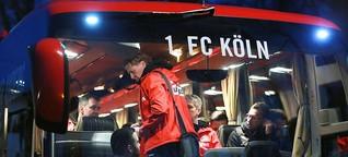 Meré zunächst nicht dabei: 1. FC Köln auf dem Weg ins Trainingslager