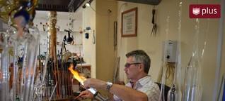 Der Glasbläser aus dem Kloster: Ein altes Handwerk verändert sich schnell