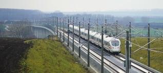 Warum auf der schnellen Bahnstrecke Erfurt-Halle nur ICE und jetzt Flixtrain fahren