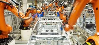 Studie Weltwirtschaftsforum: Maschinen verrichten bald mehr Arbeit als Menschen - DER SPIEGEL - Wirtschaft