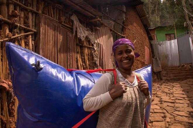 Biogas aus dem Rucksack - Geschäftsmodell für Afrika