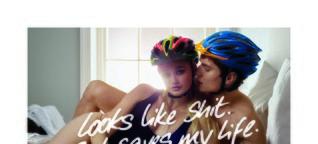 Peinliche Kampagne soll Fahrradhelm-Image verbessern - innenAnsicht