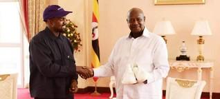 Kanye West und Kim Kardashian in Uganda: Auf so vielen Ebenen falsch