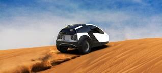 Hybrid aus E-Auto und Fahrrad - Sauberes Fahren und Fitness