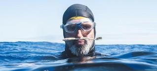 Müllstrudel: Dieser Mann schwimmt monatelang durch Plastikabfall