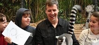 Autor Jeff Kinney: Greg soll nicht älter werden - dpa Kindernachrichten