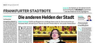 Bürgerbeteiligung bei Kleist-Festtagen: Die anderen Helden der Stadt