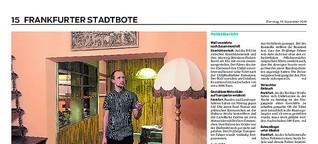Polizeiruf-Dreh in Frankfurt: Wohnung wird zum Filmset