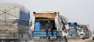 Syrien: Assad rückt auf Provinz Idlib vor