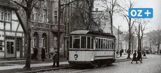 Stralsunds erste Straßenbahn fuhr 66 Jahre lang
