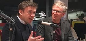 Moderation mit David Nicholls und Max Moor
