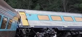 Two dead after passenger train derails in Australia