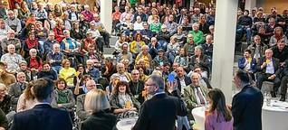 Landratsdiskussion in Lohr: Die Kandidaten positionierten sich klar