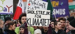 Zehntausende setzen mit Greta Thunberg Zeichen fürs Klima