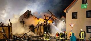 Familie verliert bei Großbrand in Hastrungsfeld alles