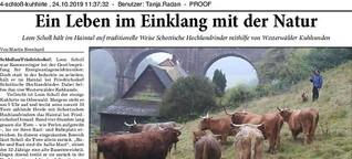 Kuhhirte: Ein Leben mit den Rindern