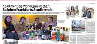 So leben Frankfurts Studierende