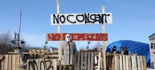 Pipeline-Proteste von Kandas Ureinwohnern setzen Trudeau zu