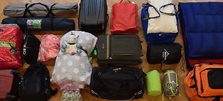 KATHOLIKENTAG: Zu wem gehört dieses Gepäck?