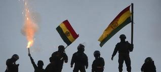Machtkampf in Bolivien: Evo Morales gibt nach