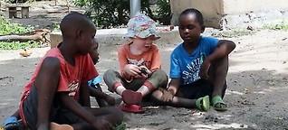 Die Albino-Community auf Ukurewe Island