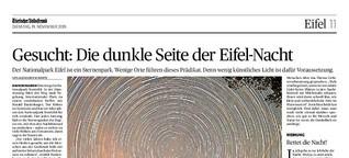 Gesucht: Die dunkle Seite der Eifel-Nacht