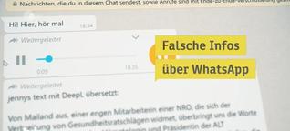 Corona: Fake News im Netz